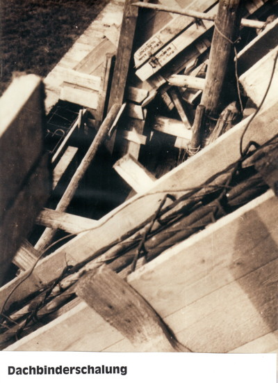 Kirchbau - Dachbinder